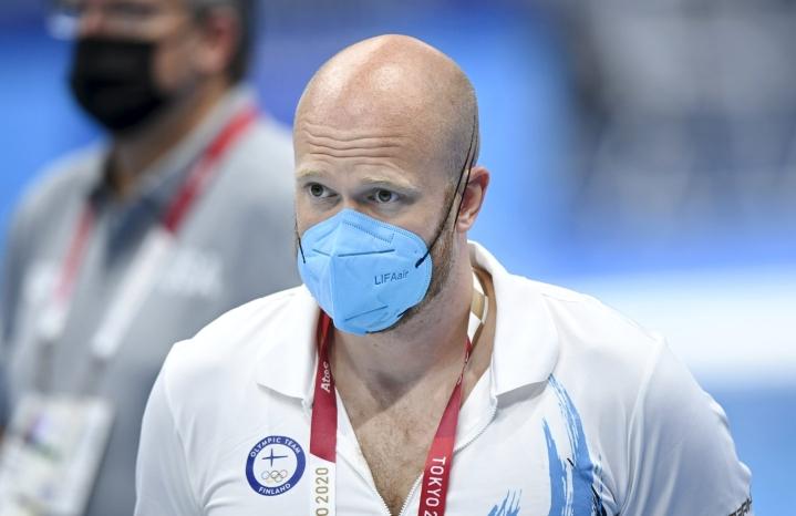 Karvonen kehui Tokion suorituksissa erityisesti olympiamitalistin henkistä vahvuutta. LEHTIKUVA / Heikki Saukkomaa