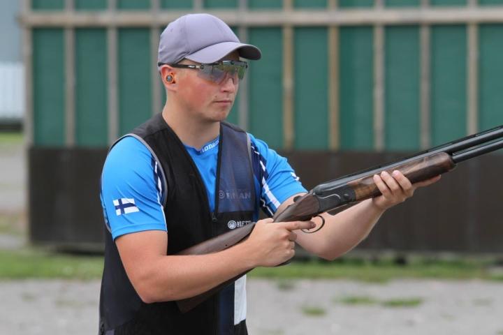Lari Pesosen pitkä odotus palkittiin lopulta, kun hänet valittiin Tokioon lähtevään olympiajoukkueeseen. Pesonen kuvattuna Hälvälässä kesäkuun puolivälissä.