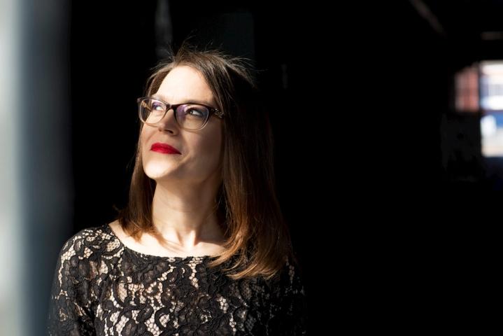 Eino Leinon palkinnon saaja on runoilija Miia Toivio. LEHTIKUVA / HANDOUT / EINO LEINON SEURA