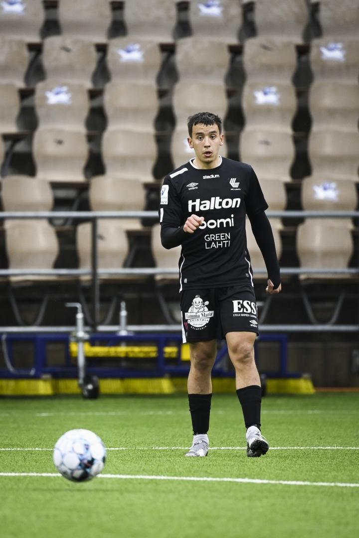 FC Lahden Jasin Assehnoun. Arkistokuva. LEHTIKUVA / EMMI KORHONEN