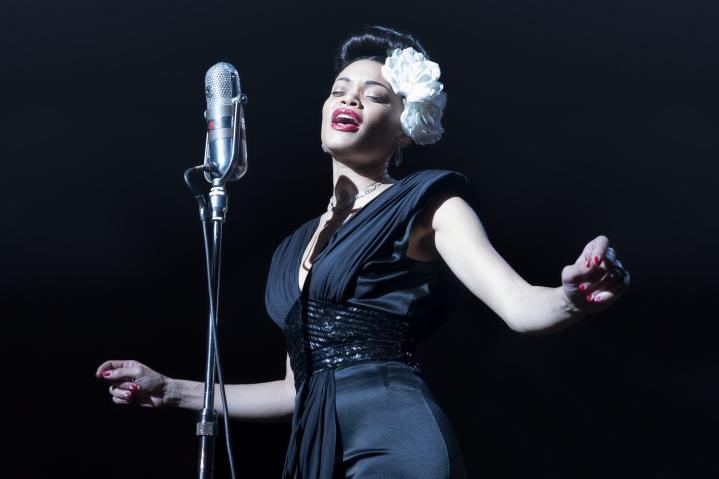 Laulaja Andra Day voitti roolistaan Billie Holidayna Golden Globe -palkinnon.