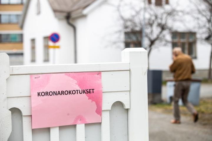 Ensimmäisen koronarokotuksen on saanut Pohjois-Karjalassa toistaiseksi 71 prosenttia vähintään 16-vuotiaista.