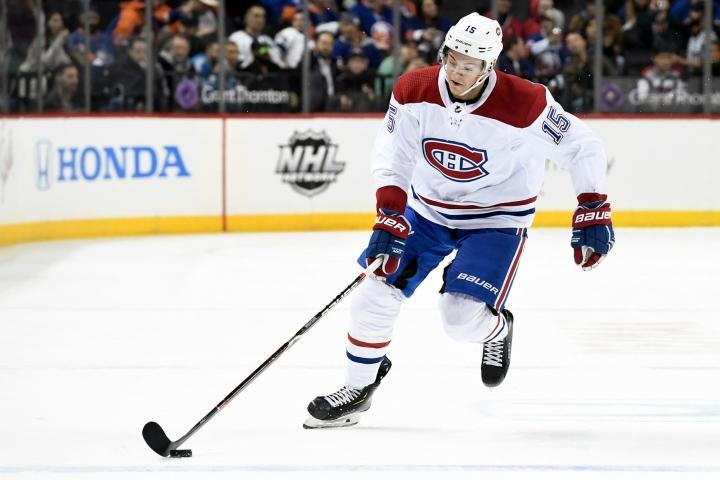 Jesperi Kotkaniemi on yksi niistä kolmesta suomalaisesta, jotka saivat Montreal Canadiensilta sopimustarjouksen.  LEHTIKUVA / Getty Images / AFP