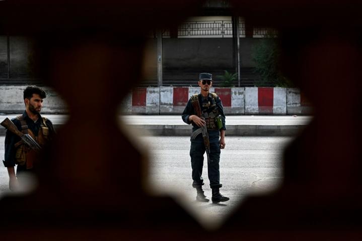 Afganistanin turvallisuustilanne on heikentynyt huomattavasti viimeisen parin kuukauden aikana, kun Yhdysvaltain johtaman liittouman joukot ovat vetäytyneet maasta ja siirtäneet päävastuun turvallisuudesta hallituksen joukoille. LEHTIKUVA/AFP