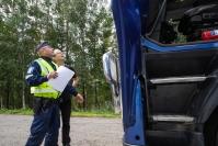 """Raskaan liikenteen tehovalvonnan tuloksena ajokieltoja, sakkoja sekä rekisterikilpien takavarikointia – """"Kuskin lepoaika oli jäänyt alle kahteen tuntiin vuorokaudessa"""""""
