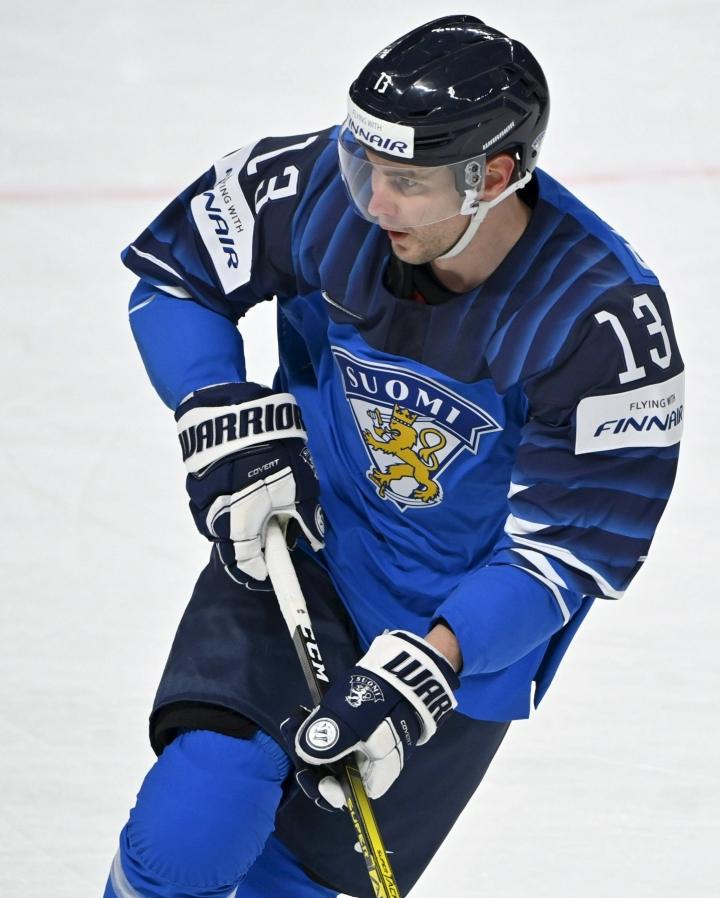 Mikael Ruohomaa on tehnyt kahden vuoden sopimuksen ruotsalaisen Leksandin kanssa. LEHTIKUVA / Jussi Nukari