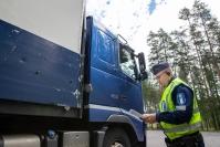 """Raskaan liikenteen tehovalvonnassa Itä-Suomessa reilu 40 rikkomusta - """"Näiltä osin oltiin liikkeessä varsin asiallisesti"""""""