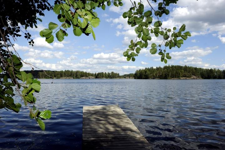 Tällä erää Suomen sisävedet ovat valtaosin hyväkuntoisia, mutta ilmastonmuuton vaikutukset saattavat olla ennalta-arvaamattomia. Lehtikuva / Mikko Stig