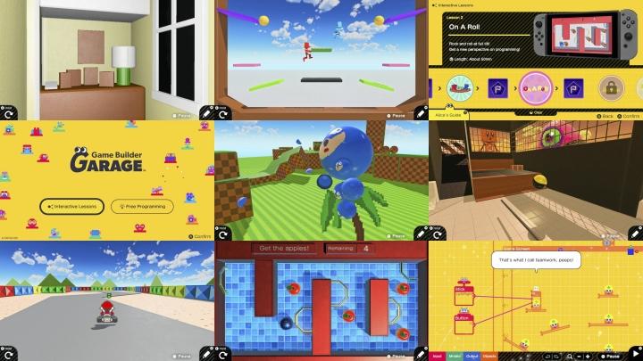 Game Builder Garage on julkaistu kannettavasti tai tv:n kautta pelattavalle Nintendo Switch -konsolille, joten omia pelejä pääsee tekemään käden käänteessä niin kotona kuin ulkona kesäilmassakin.