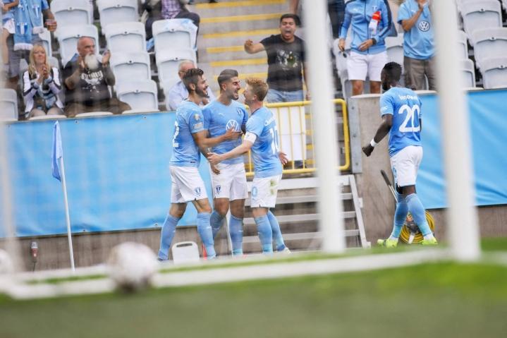 Malmö voitti 2-1. LEHTIKUVA/AFP