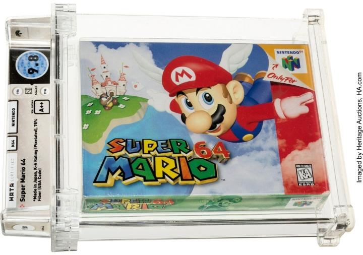 Retrovideopelien suosio on kasvanut viime vuosina nostalgiakeräilijöiden keskuudessa ja vanhojen pelikonsolien ja pelikasettien hinnat ovat lähteneet kovaan nousuun huutokaupoissa. LEHTIKUVA / AFP