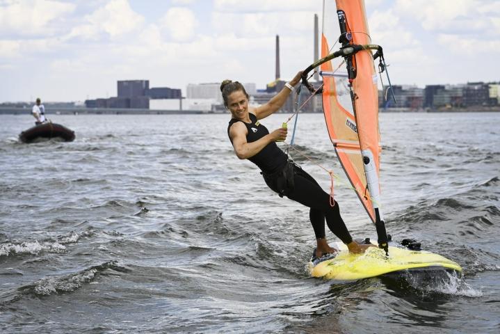 Petäjä-Sirén, 37, kilpailee Tokiossa neljänsissä olympialaisissaan. LEHTIKUVA / Emmi Korhonen