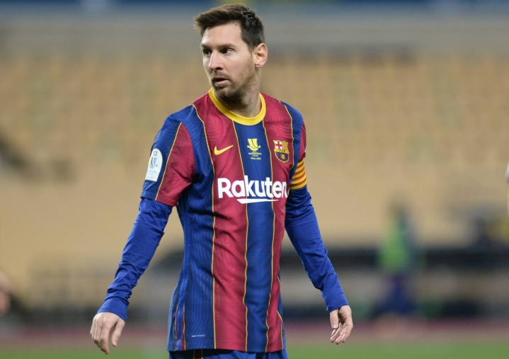 ESPN:n lähteiden mukaan Messin sopimus on viiden vuoden mittainen. LEHTIKUVA/AFP