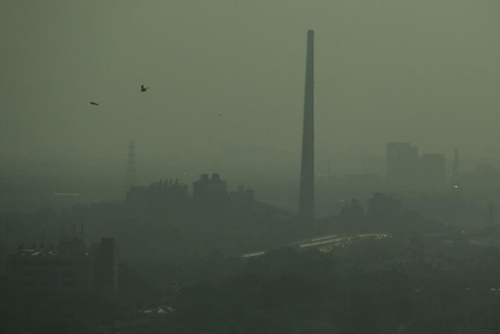 IEA sanoi, että nykymenolla hiilidioksidipäästöt jatkavat kasvuaan myös vuoden 2023 jälkeen. LEHTIKUVA/AFP