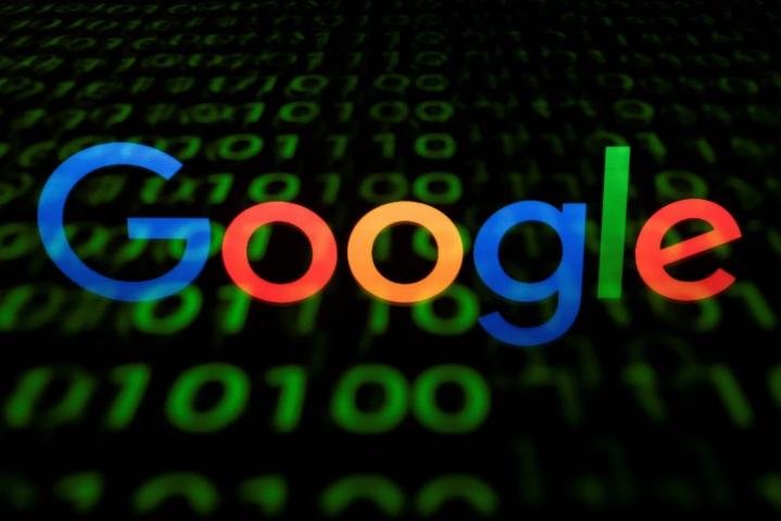 Googlen edustaja kertoo, että yhtiö on pettynyt Ranskan kilpailuviranomaisen päätökseen. Lehtikuva/AFP