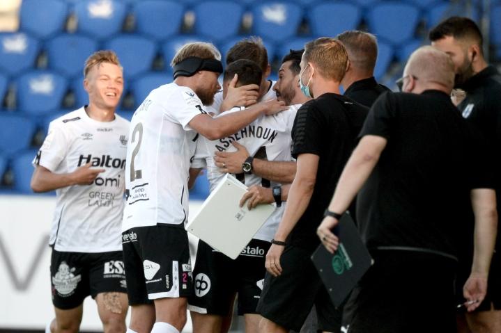 FC Lahti venytti pisteputkensa jo kahdeksan mittelön mittaiseksi. LEHTIKUVA / Mikko Stig