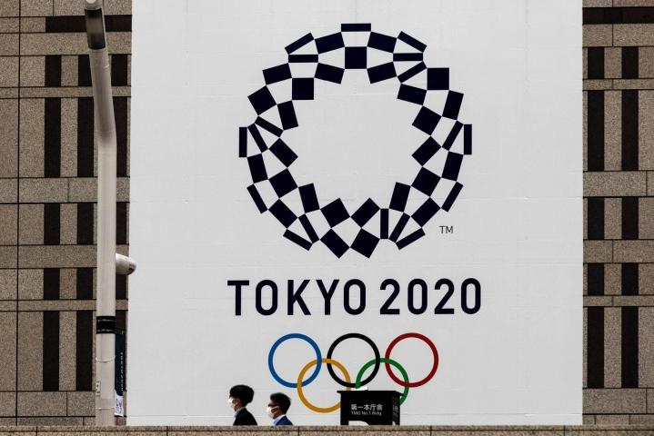 Tokion kisoja lykättiin koronapandemian takia viime vuodesta tähän vuoteen. LEHTIKUVA/AFP