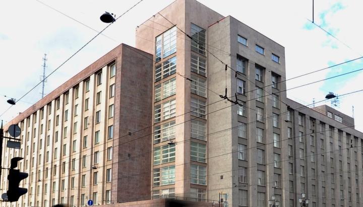Venäjän turvallisuuspalvelu FSB on pidättänyt virolaisen konsulin Pietarissa. Kuvassa FSB:n päämaja Pietarissa. LEHTIKUVA/AFP