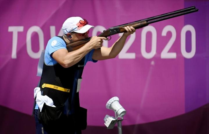 """Lari Pesonen ei ollut tyytyväinen omaan suoritukseensa Tokion olympialaisissa. """"Täytyy treenata enemmän"""" hän kommentoi kilpailun jälkeen."""