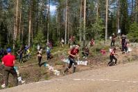 Pielisrasteilla Aleksi Karppinen ja Sara Karvonen olivat ensimmäisen päivän nopeimmat - sunnuntaina on vuorossa pitkän matkan kilpailu