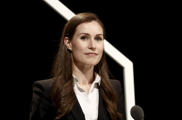 HS:n kyselyssä 63 prosenttia vastaajista katsoo pääministeri Sanna Marinin (sd.) onnistuneen tehtävässään.  LEHTIKUVA / Roni Rekomaa