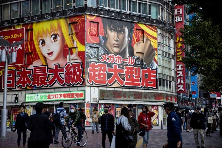 Japani on kiistatta taloudellinen jättiläinen, jonka talous on edelleen maailman kolmanneksi suurin. Lehtikuva/AFP