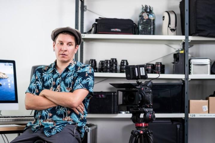 Janne Tanskanen on kiinnostunut myös dokumenttielokuvien tekemistä. Parhaillaan työn alla on kolmas dokumentti.