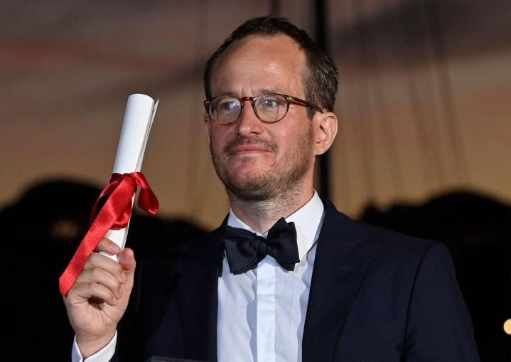 Kuosmasen elokuva Hytti nro 6 voitti Cannesin elokuvajuhlien toiseksi arvostetuimman Grand Prix -palkinnon. LEHTIKUVA/AFP