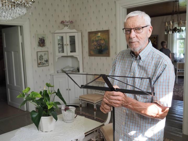 Hannu-Heikki Hakulinen harjoittelee tiettyjä laulusarjoja säännöllisesti.