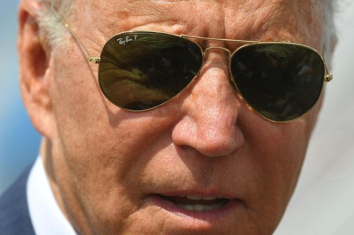 Yhdysvaltain presidentti Joe Biden nosti kyberhyökkäykset esiin perjantaina puhelinkeskustelussaan Putinin kanssa, ilmoitti Valkoinen talo BBC:n mukaan. LEHTIKUVA/AFP