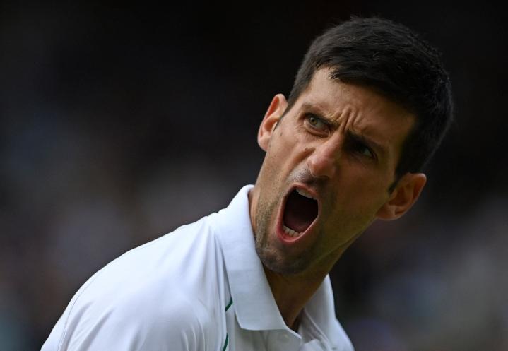 Mestaruus on Djokovicille uran 20:s grand slam -tasolla. LEHTIKUVA/AFP