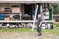 Kuvat: Jakokoskelaisen Tero Monosen, 52, RJR-hallista löytyy melkein mikä tahansa rakennustarvike - Hyvänä päivänä käy kolmesta neljään asiakasta, huonona ei ketään
