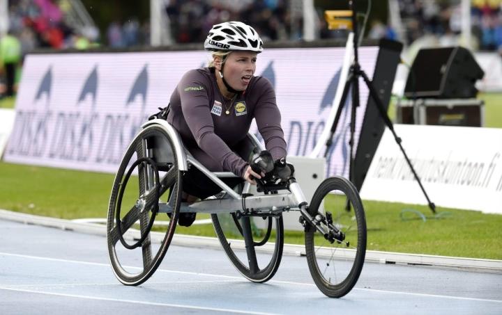 Amanda Kotaja on lupaavassa iskussa ennen Tokion paralympialaisia.