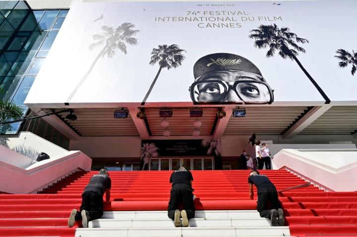 Maailman arvostetuimman elokuvatapahtuman, Cannesin elokuvajuhlien merkitys on tänä vuonna poikkeuksellisen suuri. LEHTIKUVA/AFP