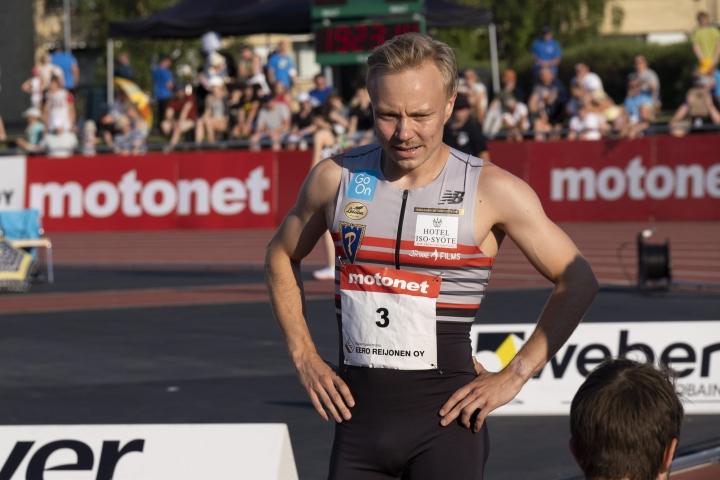 Joonas Rinne hakee vielä lisäparannusta ennätykseensä tällä kaudella.