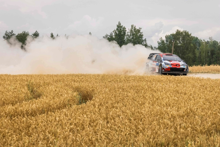 Viron MM-ralli päättyy sunnuntaina. LEHTIKUVA/AFP