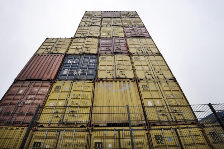 Kasvuluvuissa näkyy, miten vienti on noussut viime vuoden koronakuopasta. LEHTIKUVA / MARKKU ULANDER
