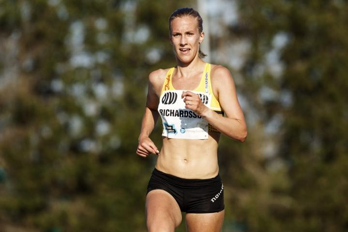 Suomen olympiajoukkueeseen valittu kestävyysjuoksija Camilla Richardsson ei lähde Tokion olympialaisiin. LEHTIKUVA / Roni Rekomaa