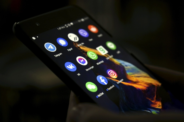Facebookin omistaman Whatsappin mukaan NSO:n vakoiluohjelmaa oli asennettu käyttäjien laitteille viestisovelluksen kautta. LEHTIKUVA / EMMI KORHONEN