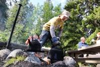 Lieveilmiöt ovat jatkuneet Kolin kansallispuistossa –retkeilijät eivät olleet edes ajatelleet metsäpalovaroitusta, asuntoauto pysäköitiin melkein Pieliseen