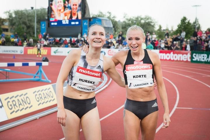 Annimari Korte juoksi sadan metrin aitojen Suomen ennätyksen Joensuun GP-kisoissa kaksi vuotta sitten. Myös Reetta Hurske pinkoi silloin ennätyksensä. Olympialaisiin valmistautuva aiturikaksikko kertoo ajatuksiaan tiistaina Karjalaisen livelähetyksessä.