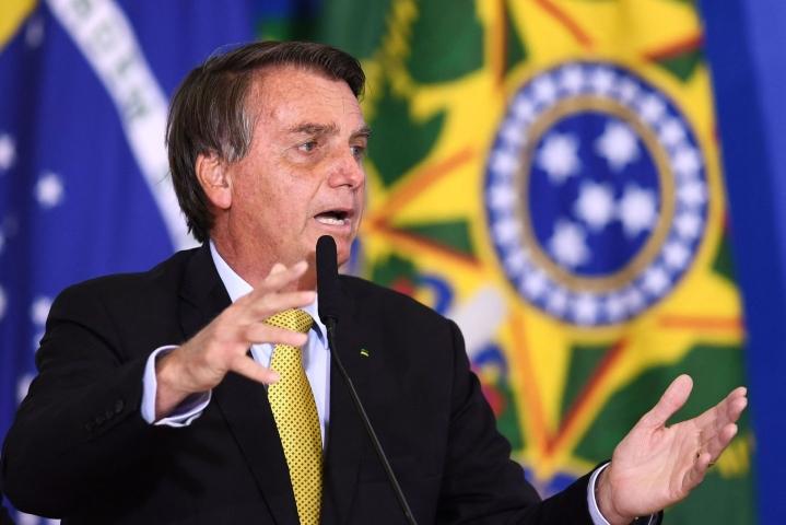 Bolsonaro on ollut vallassa vuodesta 2019. LEHTIKUVA/AFP