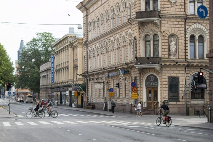 Turkulaisessa ravintolassa tapeltiin heinäkuun alussa. LEHTIKUVA / RONI LEHTI