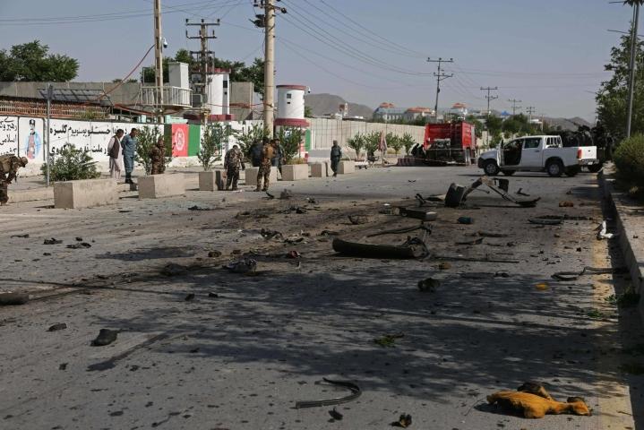 Afganistanin levottomuudet ovat yltyneet viime viikkoina. Kuva Kabulista kesäkuulta. Lehtikuva/AFP