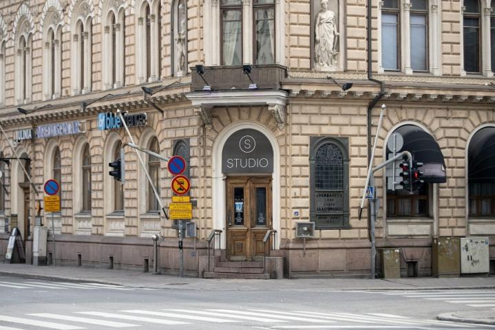 Nujakassa oli ravintola Studion henkilökunnan arvion mukaan osallisina 20–30 ihmistä.  LEHTIKUVA / Roni Lehti
