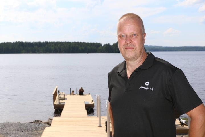Nurmeslainen Jussi Puoskari on työskennellyt Motoajon toimitusjohtajana vuodesta 2003 alkaen.