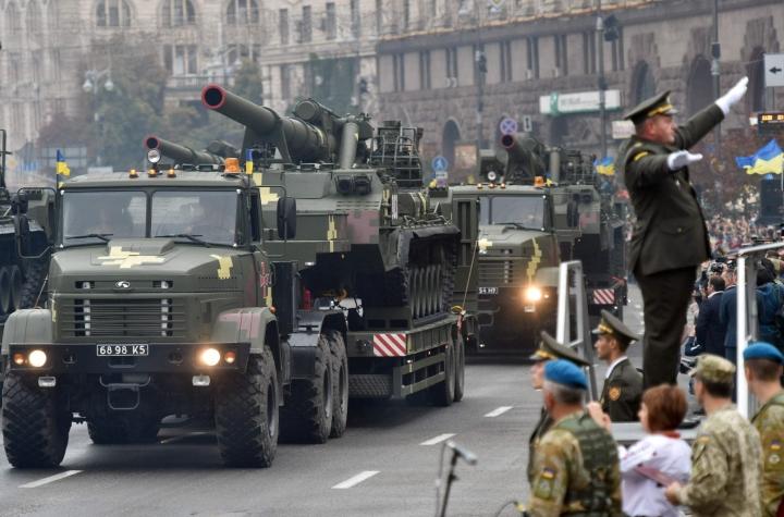 Ukraina julistautui itsenäiseksi 24. elokuuta 1991. Joulukuussa samana vuonna pidetyssä kansanäänestyksessä 80 prosenttia kannatti Ukrainan itsenäistymistä Neuvostoliitosta. LEHTIKUVA / AFP