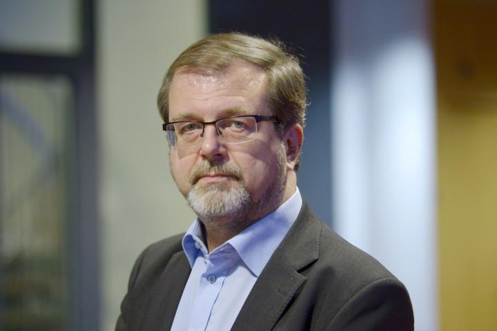 Kevan toimitusjohtaja Timo Kietäväisen mukaan vuoden ensimmäisen puoliskon sijoitustulos oli erittäin hyvä. LEHTIKUVA / MARKKU ULANDER