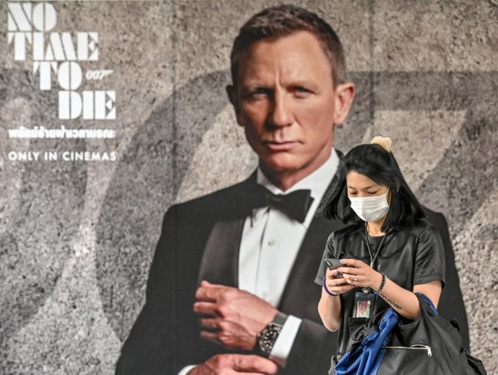 Alun perin uusimman Bond-elokuvan ensi-illan piti olla viime vuoden maaliskuussa, mutta julkaisua on lykätty koronapandemian takia. LEHTIKUVA / AFP