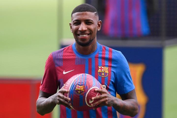 Brasilialaisseura Atletico Mineirosta vuonna 2019 Espanjan liigassa pelaavaan FC Barcelonaan siirtynyt Emerson, 22, on pelannut kaksi edellistä kautta lainasopimuksella Espanjan liigassa pelaavassa Real Betisissä. LEHTIKUVA / AFP